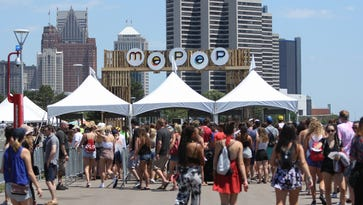 West Riverfront Park in Detroit hosted the Mo Pop Festival on Saturday, July 23, 2016.