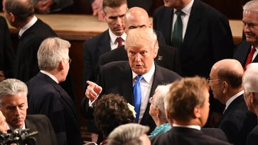 Unity, fear and the anthem: Top takeaways from Trump's State of the Union address