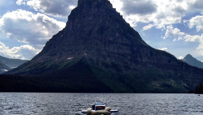 Glacier National Park set a record attendance for the month of May this year.