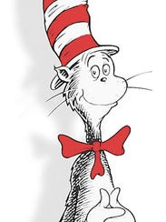 The Cat in the Hat, created by Theodor Geisel, a.k.a.