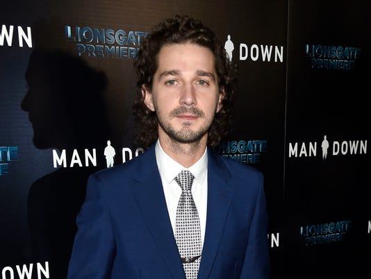 Shia LaBeouf's He Will Not Divide Us website posts antisemitic