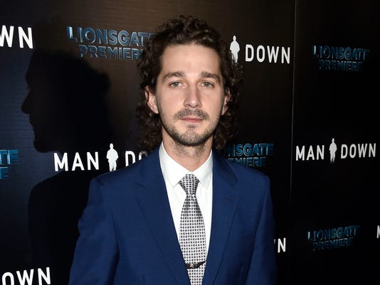 AP LABEOUF ARRESTED A ENT FILE USA CA