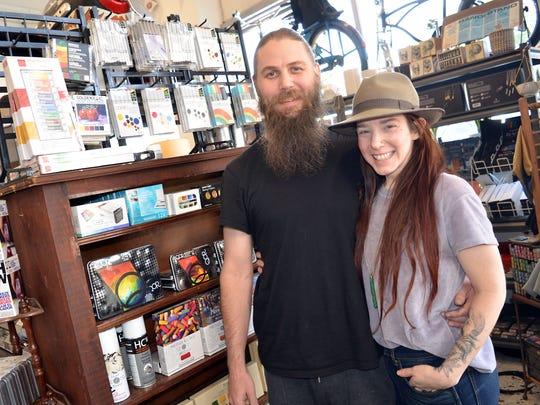 Beacon owners, Jason Jenkins and wife Nicole Wyatt