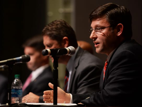 Mike Johnson at the 4th Congressional Debate Thursday