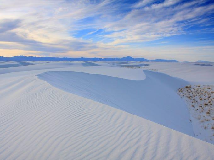 White Sands National Monument preserves 224 square