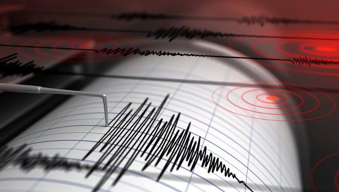 The U.S. Geological Survey reported a 3.5 magnitude earthquake feltnear the Arizona-Utah border.