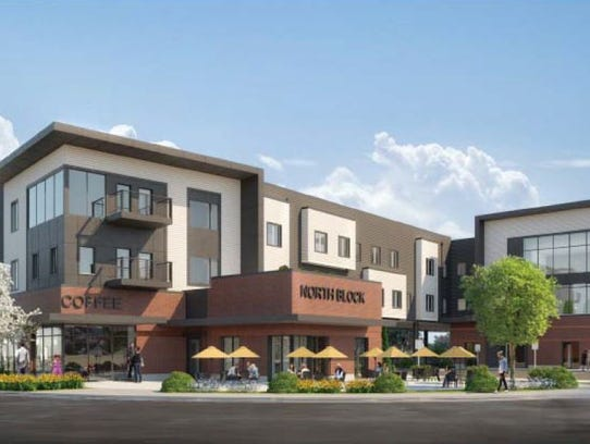 Plans revealed for 27 000 ft office building near downtown for How to build a retirement home