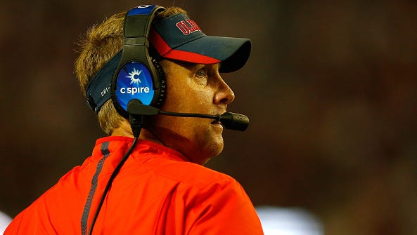Coach Hugh Freeze said Friday he didn't know former Ole Miss recruits had been interviewed by the NCAA, which a Yahoo Sports report said happened over the summer.