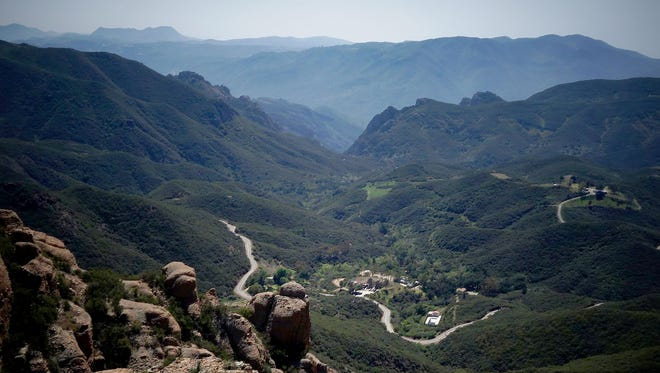 The view from Inspiration Point in the Santa Monica Mountains is sure to impress.