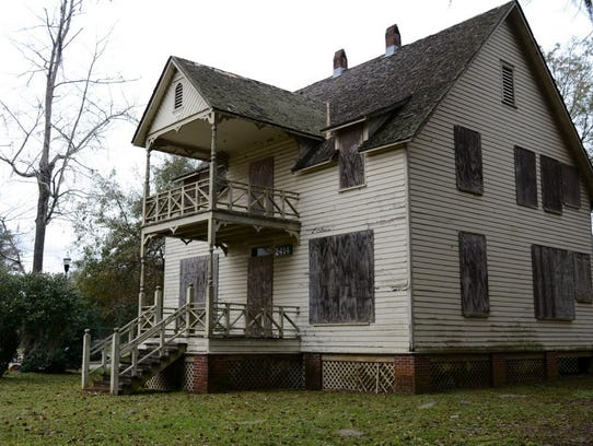 The Gibbs cottage, constructed in 1892, is the oldest