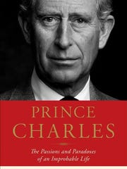 Book cover of new biography of Prince Charles