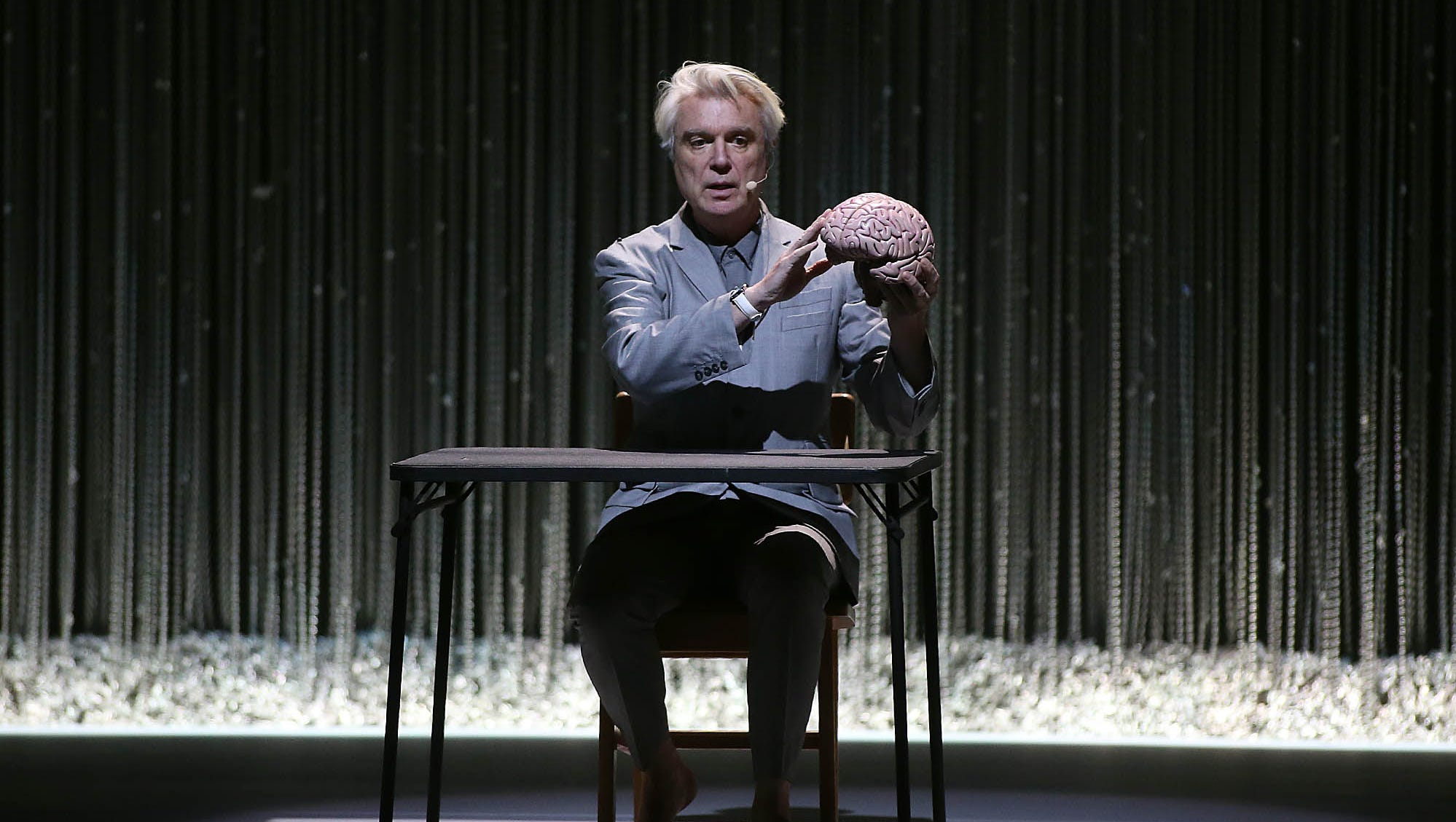 David Byrne remains one of the greatest front men ever on 'American Utopia' tour