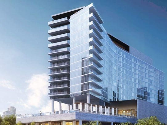 A Rendering Of The W Hotel Planned In Gulch