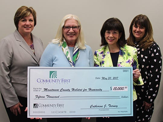 Community First Credit Union has pledged $15,000 to