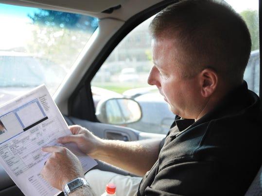 Ride along - warrants - Sgt. Jason Gearman and Deputy Joe Bosman