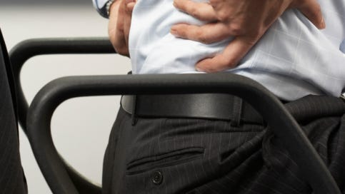 Twenty minutes of moderate exercise a day can help alleviate lower back pain.