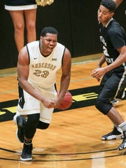 Anderson University redshirt freshman center Carlos Dotson ranks in the top-10 in the league in shooting percentage in conference play.