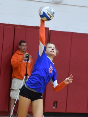 Hayley Moores played a key role in Ladywood's Class B district championship run.