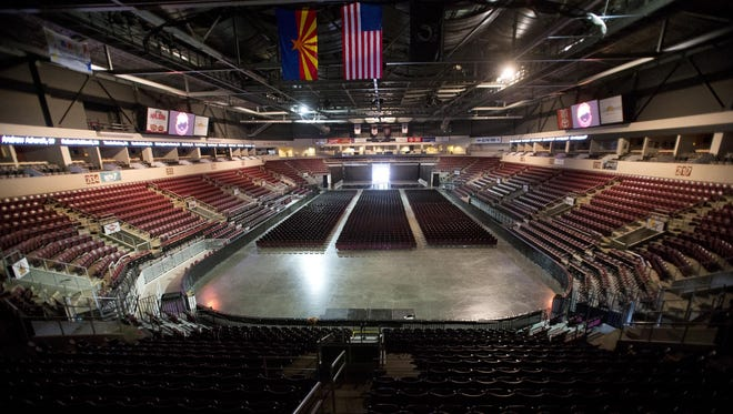 The company behind a Prescott Valley arena has filed for Chapter 11 bankruptcy protection.