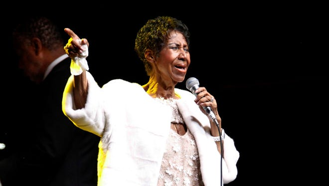 """Aretha Franklin, """"Queen of Soul"""" and Memphis native, 76."""