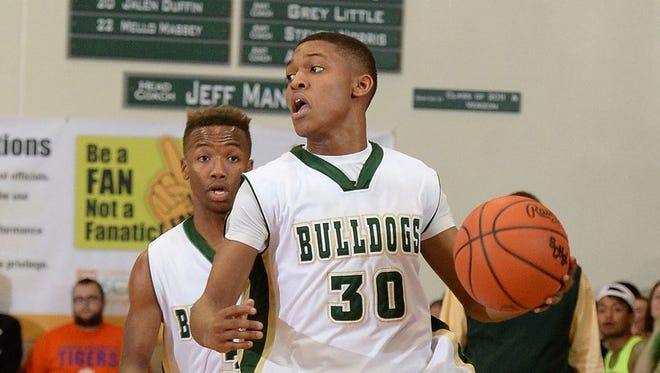 Junior guard Raymond Williams (30) leads a talented cast of returning players for Berea, No. 3 in Class AAA in the preseason rankings.
