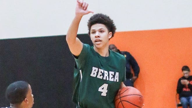 Newa Hashim scored 12 points for Berea in its 57-52 loss to Walhalla Tuesday night in the semifinals of the Greenville County Tip-Off Tournament at Berea.