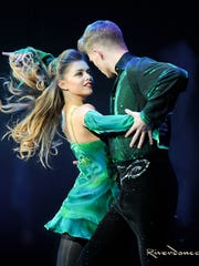 Scene from Riverdance: The 20th Anniversary Tour.