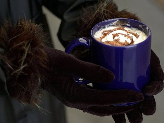 Grab some hot chocolate on a cocoa crawl this winter.