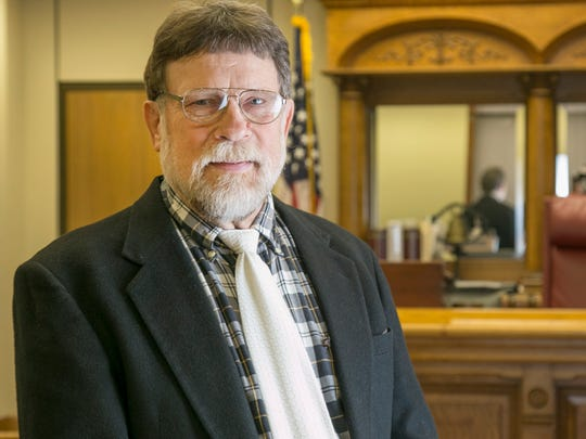 Probate Judge Phillip Mayer is the presiding judge of the Common Pleas courts.