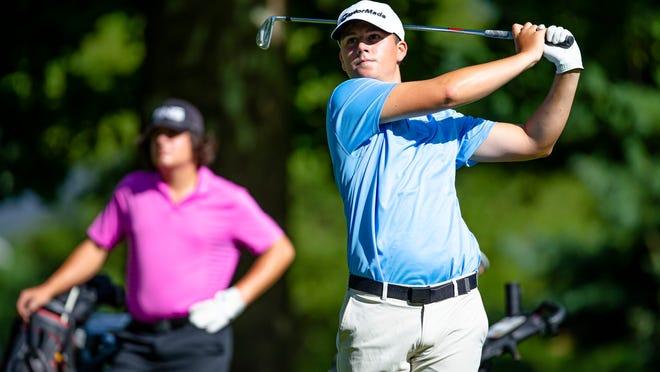 New Berlin High School's Dain Richie is The State Journal-Register's Small School Boys Golfer of the Year. [JUSTIN L. FOWLER/THE STATE JOURNAL-REGISTER]