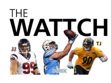 The Wattch: Checking in with Pewaukee football brothers J.J. Watt, T.J. Watt and Derek Watt