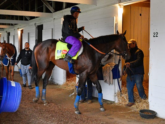Horse Racing: Kentucky Derby-Workouts