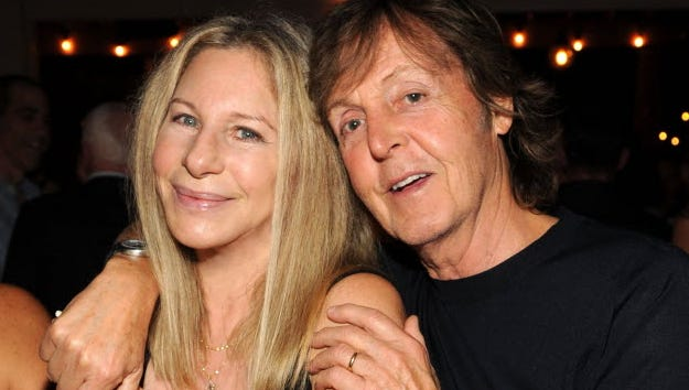Barbra Streisand and Paul McCartney were in the audience at Apollo in the Hamptons at The Creeks.