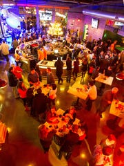 The new Punch Bowl Social, which specializes in old-school entertainment, food and craft beer, is hosting an '80s themed New Year's Eve party.