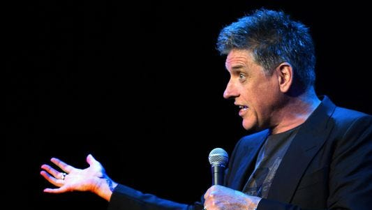 Comedian and former late-night talk-show host Craig Ferguson performs in a sold-out show tonight at the Flynn Center.