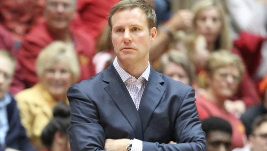 Iowa State coach Fred Hoiberg is expected to be named head coach of the Chicago Bulls on Tuesday.