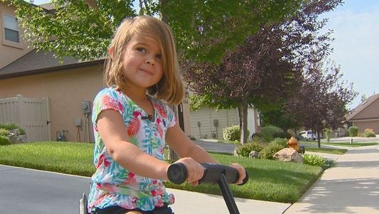 4-year-old Rosie Moran is being called a hero. After noticing that a neighbor's home was on fire, she went to get help.