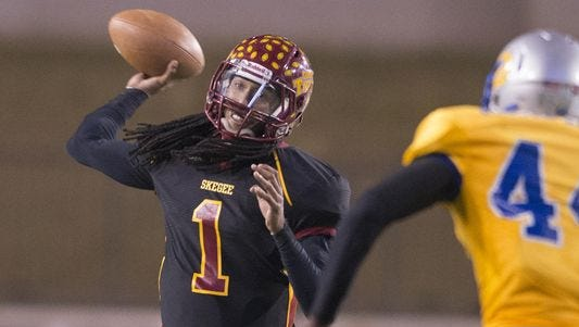 Tuskegee junior quarterback Kevin Lacey will miss out on playing Alabama State in his college career.