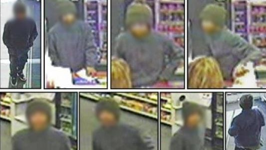 Surveillance footage of a suspect believed to be between 10 and 13 years old during a Jan. 19 robbery at a CVS on the Westside. (This photo has been blurred to protect the juvenile's identity).