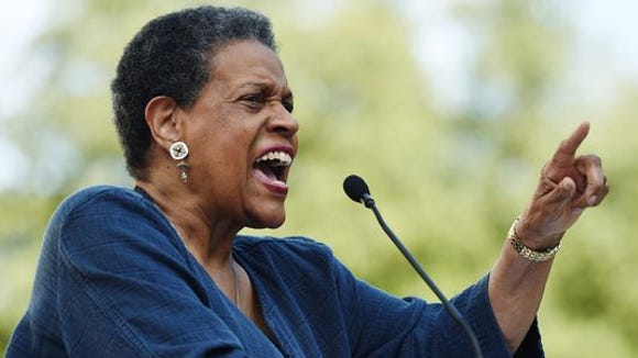 Myrlie Evers was born on March 17, 1933, in Vicksburg, Mississippi. She married Medgar Evers, who was assassinated in Jackson in 1963. After his death, she became a civil rights leader in her own right.