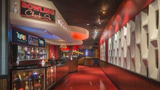 The Kings Bowl boutique bowling and dining venue recently opened in CoolSprings Galleria.