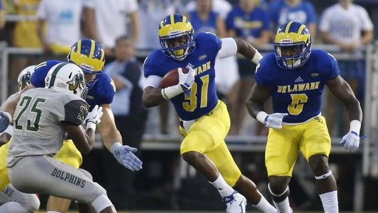 Delaware welcomes back Wes Hills after a foot injury ended his 2015 season after the opening game.