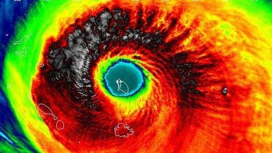 Hurricane Irma barrels down on South Florida.