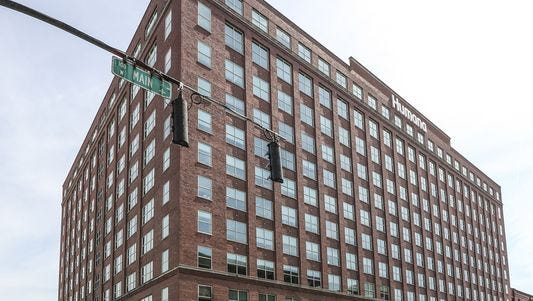 Humana's Waterside building in downtown Louisville is one of several office buildings filled with employees. An undisclosed number there were notified they'll be let to at the start of the year.