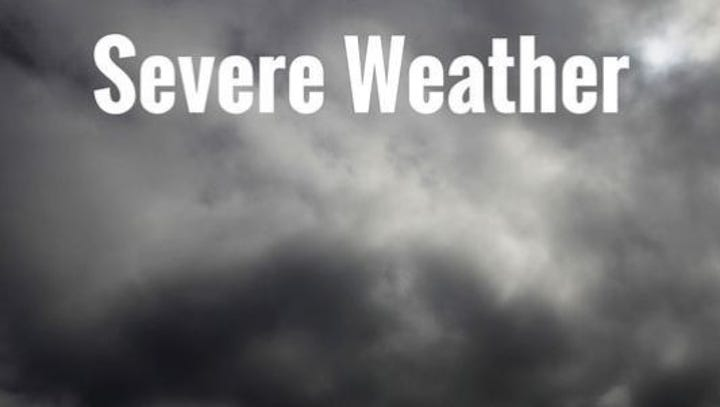 Severe thunderstorm warning issued for parts of Larimer County Tuesday