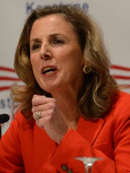 Katie McGinty, a candidate for the Democratic Party's