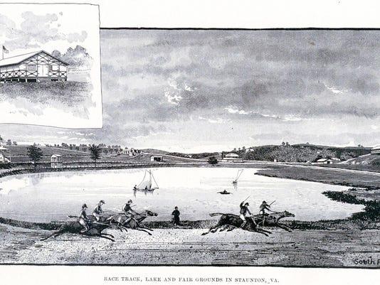 Park racetrack 1880s