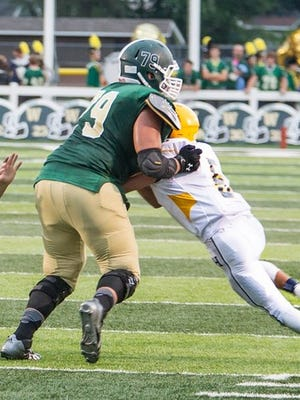 Traverse City West Thiyo Lukusa is a three-star tackle from Traverse City West.