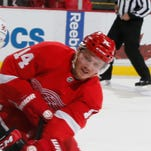 Red Wings forward Gustav Nyquist