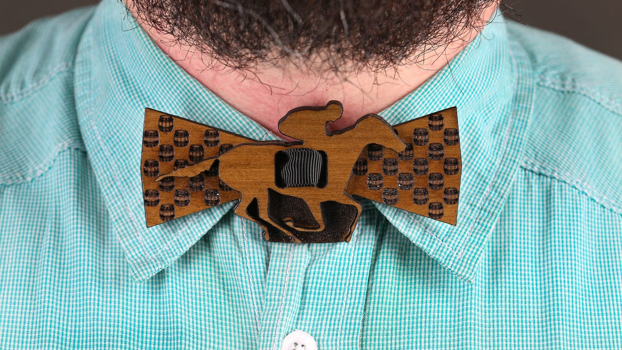 StoryWood Bowties in Old Louisville has found a fashionable way to preserve reclaimed wood.